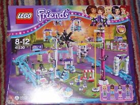LEGO FRIENDS - AMUSEMENT PARK ROLLER COASTER 41130 *BRAND NEW*