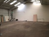 Warehouse Space To Let 37.4 x 48.74 Storage Workshop etc Open To Offers