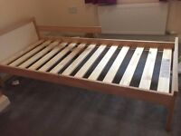 A second kid bed frame & mattress & bed base for sale.Almost new,bought from IKEA.