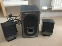 Altec Lansing PC Speakers with Sub Woofer