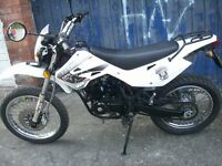for sale this white knuckle 125cc