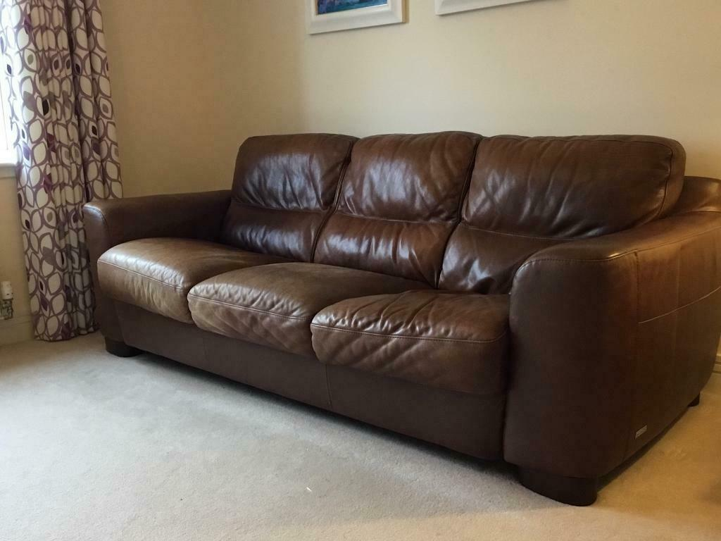 Sofitalia 3 2 Seater Leather Couch