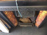 "Fireplace with side Tiles (38"" x 38"") £150.00"