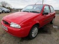 Ford fiesta *3 door*Red*1.8 diesel*59,800 miles from new*New cam belt fitted*