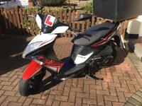 Scooter kymco super 8 125cc in great condition