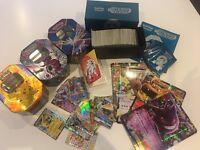 Pokémon cards (mostly rare), EX, GX, 3 boxes, 1 special edition box, 1 mini Pokémon binder