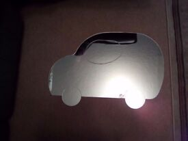 Mirror shaped like a car for sale