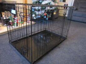 Dog cage 92cm x 58cm x 60cm