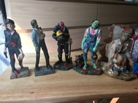 Urban Zombies 5 figurines