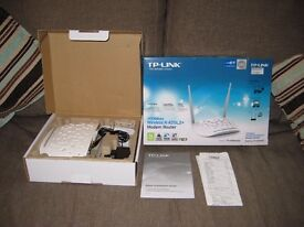 TP-LINK TD-W8961ND 300 Mbps Wireless N ADSL2+ Modem Router - New in Box