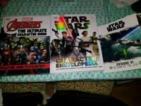 Avenger and star wars books