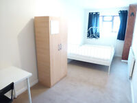 NICE SINGLE ROOM WITH DOUBLE BED TO RENT IN ACTON - NORTH ACTON/WEST ACTON - ACTON CENTRAL