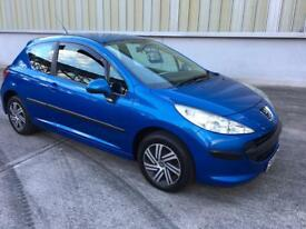Stunning 2007 07 Peugeot 207 1.4 S 3Dr **3 Owners+History+1 Years Mot+Parrot Handsfree**