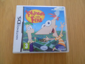 Phineas & Ferb for DS DSi DS Lite 3DS XL With Case