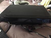 Human 330gb freesat box with remote and box, sale due to upgrade