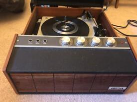 Retro HMV record player