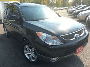 2008 Hyundai Veracruz Limited/AWD/DVD/LEATHER/ROOF/7PASS/ALLOYS
