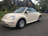 Stunning Volkswagen Beetle cabriolet 2005 May swap px