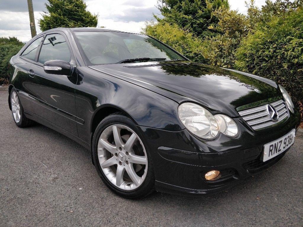 Mint Mercedes C160 Sports Coupe Manual Like Golf Megane Astra Fuel Filter Benz 1998 C4 3 Focus 318i A150 Leon