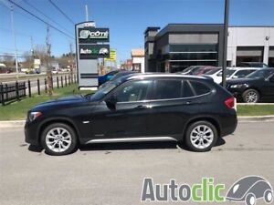 2012 BMW X1 28i wow 48137 km cuir mags