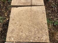 Paving Slabs Used But In Good Condition. Extra Thick.