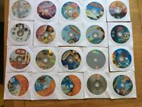 20 kids DVDs