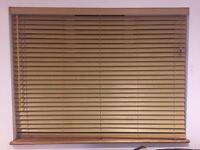 Wooden Venetian blinds 173cm x 140 drop