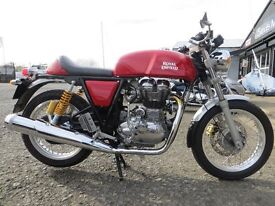 2015 - Royal Enfield Continental GT - £3999. Low miles - 550, like new. Finance subject to status.