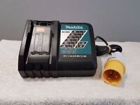 "110v, MAKITA DC18RC 7.2v-18v li-ion lithium ion 110v 22 MIN charger ""USED"""