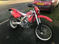 Gas gas fse 450 road legal motocross bike