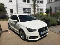 2013 Audi A1 1.6 Tdi S LINE 1 Owner FSH £0 TAX