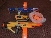 Nerf Guns and bullets. Please read the description.