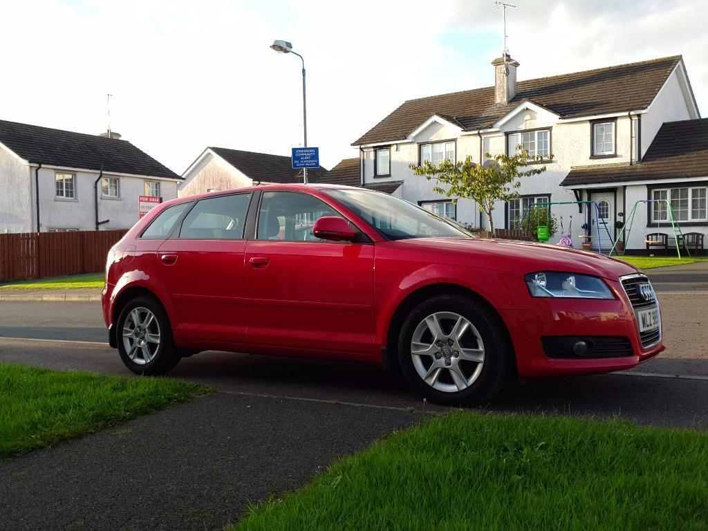 2009 audi a3 sportback 2 0 tdi audi fsh free service in belfast city centre belfast gumtree. Black Bedroom Furniture Sets. Home Design Ideas