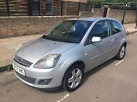 Ford Fiesta 2007, 3dr, 1.4 Petrol, Silver, 99k Miles, A/C, Good Condition, MOT Jan 19 - QUICK SALE