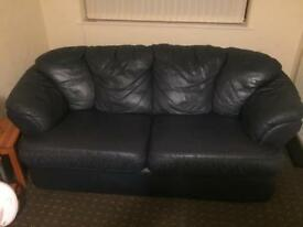3 and2 piece Leather Sofa