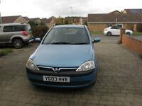 Vauxhall, CORSA, Hatchback, 2003, Manual, 973 (cc), 3 doors