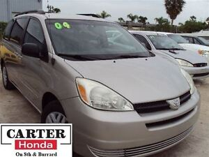 2004 Toyota Sienna CE 7 SEATS + VERY LOW KMS + LOCAL + WEEKEND S