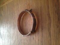 9ct rolled gold bracelet