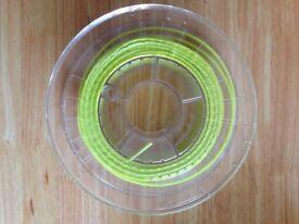 3d printing filament Fluorescent Green 2.85