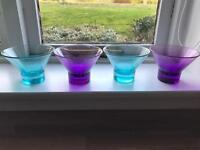 Glass dishes/bowls