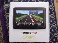 WIDE SCREEN LARGE TOM TOM SAT NAV. £50 NO OFFERS/TIME WASTERS