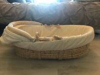 Moses basket mamas and papers