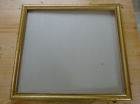 GILT PICTURE FRAME 60 x 55cm