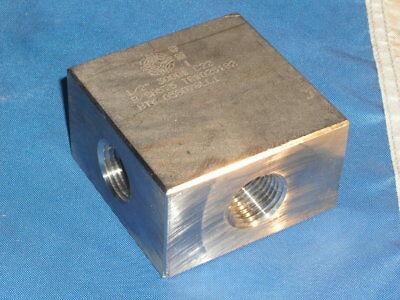 Corrosion Materials 12 Fnpt C22 Hastelloy Tee 3000 High Pressure Cross 4 Way