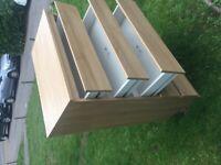 Five drawer bedroom unit