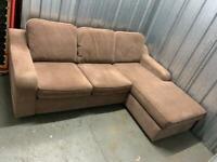 FREE DELIVERY corner sofa