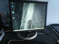 """Dell 17"""" Monitor - used. (model 1704 fpt) - £25"""