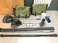 Ron Thompson / Stillwater Complete Fly Fishing Sets x 2 - Rods/Reels/Nets/Bags/Flies - New/Unused!