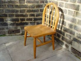 Wooden Chair Retro Furniture 9