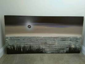 Canvas oil painted 120 x 59.5cm very good condition